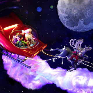 Santa's Journey To The Stars