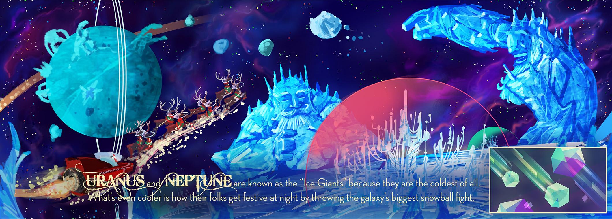 Uranus + Neptune