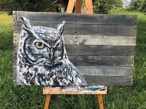 Blue owl (Original )