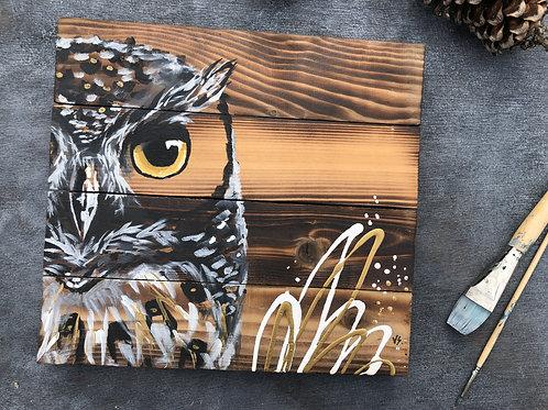 Gold Owl ''12x13''