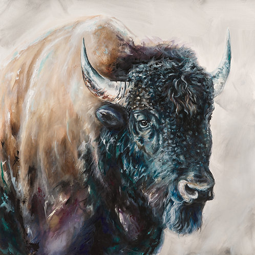 Blue head Bison (Original)