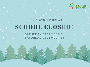 Winter Break - School Closed