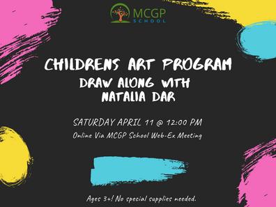 Children's Online Art Program