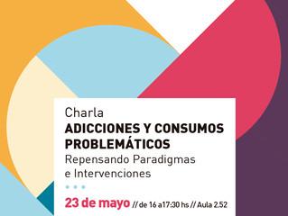 """Charla """"Adicciones y consumos problemáticos"""" en la Universidad Católica"""