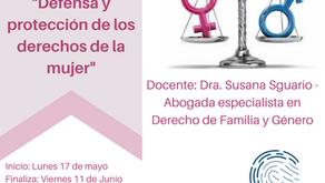 """Curso virtual: """"Defensa y protección de los derechos de la mujer"""""""