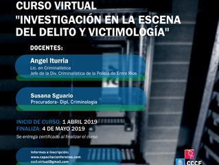 Curso virtual Investigación en la Escena del Delito y Victimología