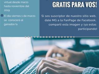 ¿Querés hacer gratis todos nuestros cursos virtuales?