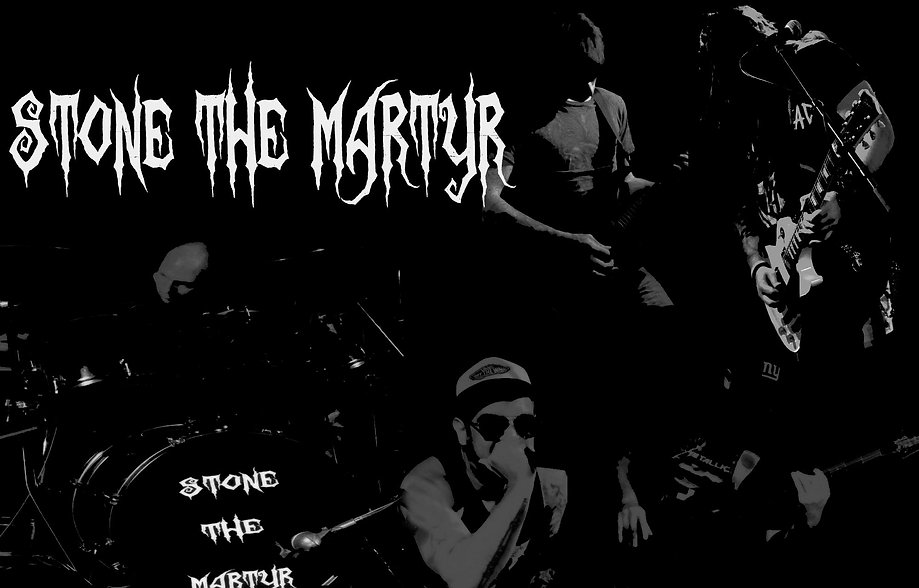 Stone the Martyr Background Composition