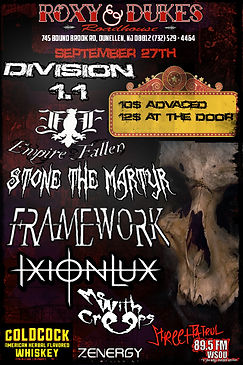 Stone the Martyr Flyer 4