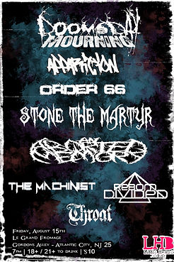 Stone the martyr flyer 5