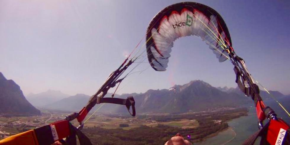 Stage S.I.V --> PILOT-PARA Voler avec plaisir c'est avant tout se sentir en sécurité sous son parapente!