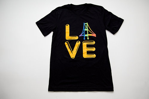 Bridges Pittsburgh Pride T-Shirt