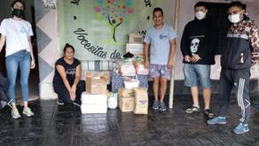La Fundación Igualar de Juan Cruz Komar ayuda a más de 25 comedores de la ciudad