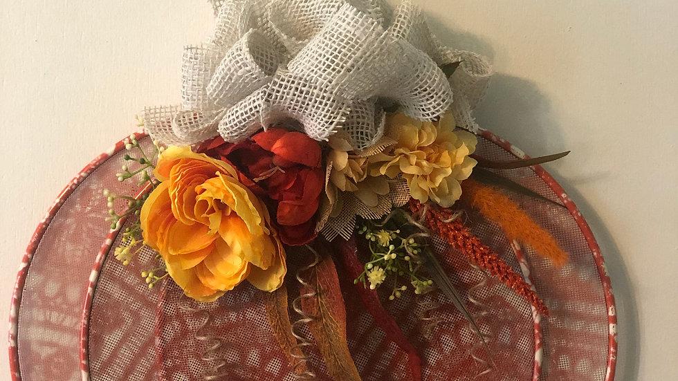 Moroccan Pumpkin Wreath