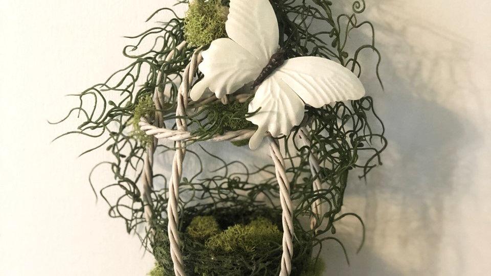 Mossy Butterfly Lantern