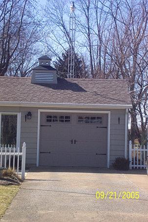 J & J Door Inc, garage doors and openers, gutters, ohio | Work