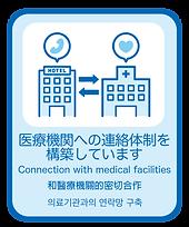 13. 医療機関への連絡体制を構築しています.png