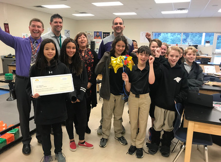 FOUNDATION AWARDS 19 GRANTS TO LOCAL TEACHERS