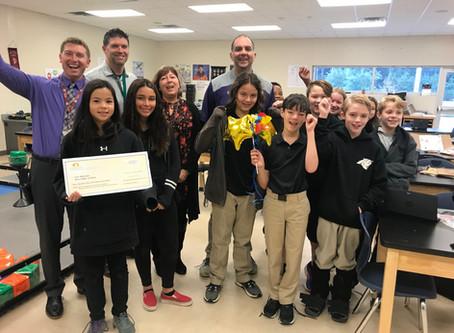 FOUNDATION AWARDS 19 GRANTS TO LOCAL TEACHERS
