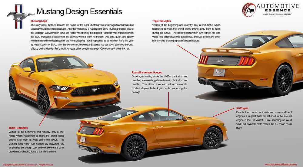 Ford Mustang Design Essentials