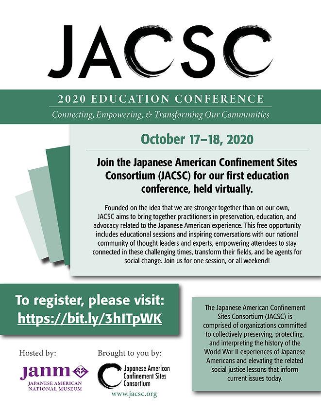 JACSC Education Conference Flyer General