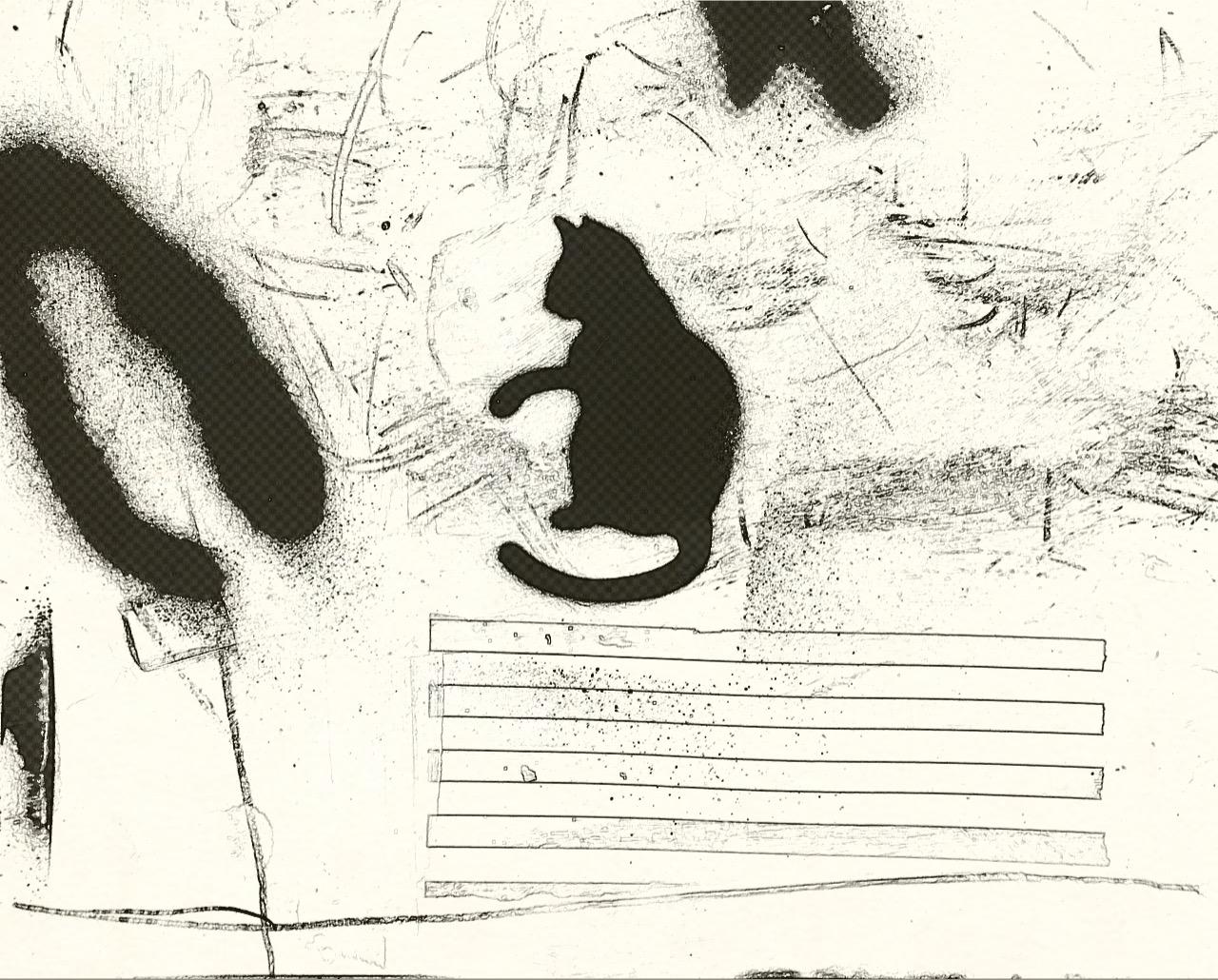 Vandale de nature (Black Cat)