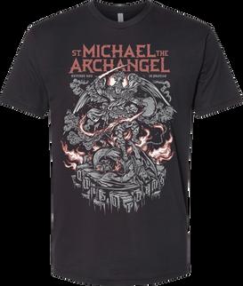 Saint Michael  the Archangel Graphic Tee Fron
