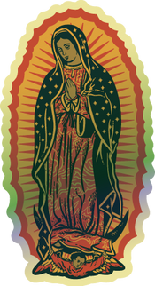 Holographic Our Lady of Guadalupe