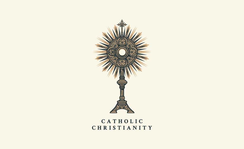 Catholic Christianity Brisbane Austrailia Logo