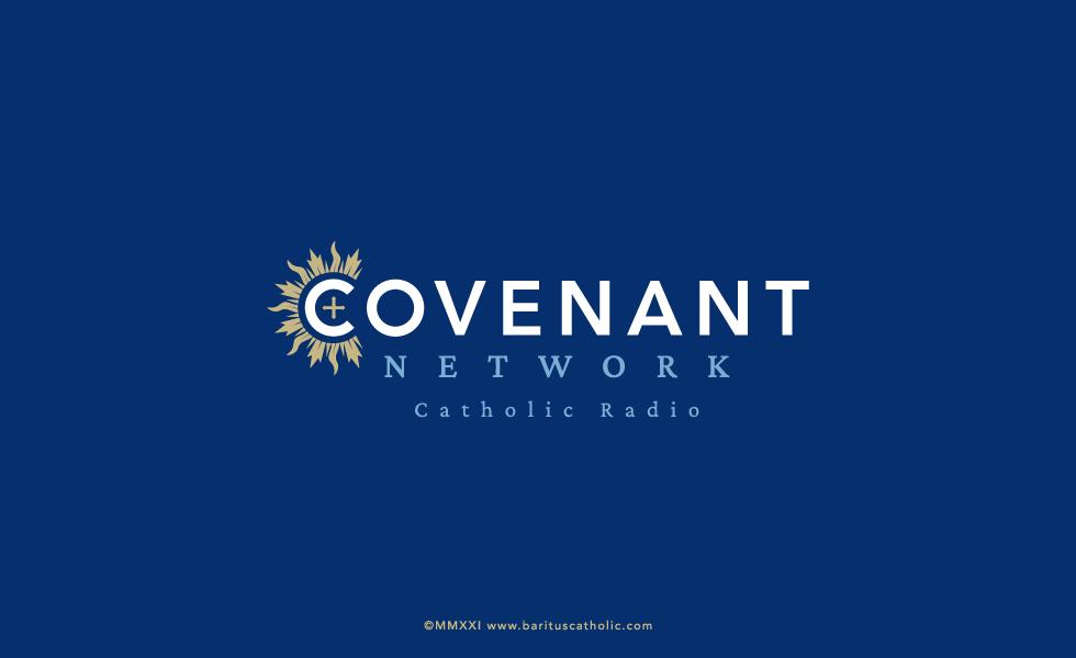 Covenant Network Catholic Radio Logo