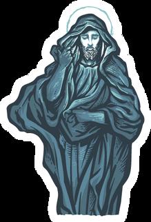 Transfiguration Dark Blue