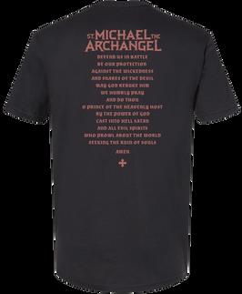 Saint Michael  the Archangel Graphic Tee Back