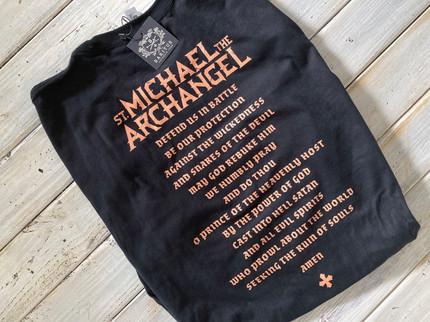Saint Michael  the Archangel Graphic Tee