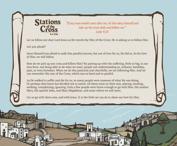 Stations of the Cross for Kids