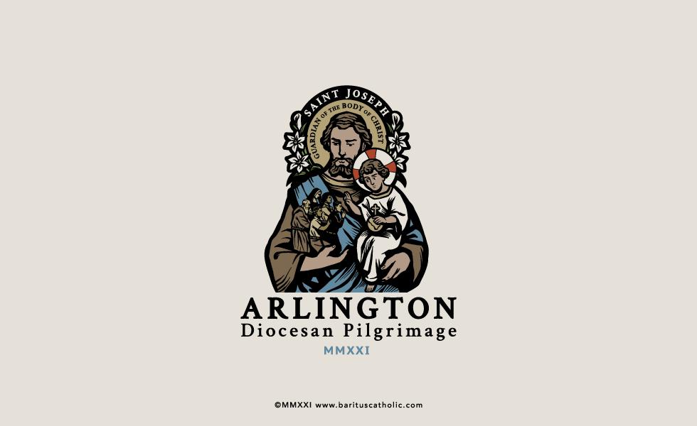 Arlington Diocese Pilgrimage Logo