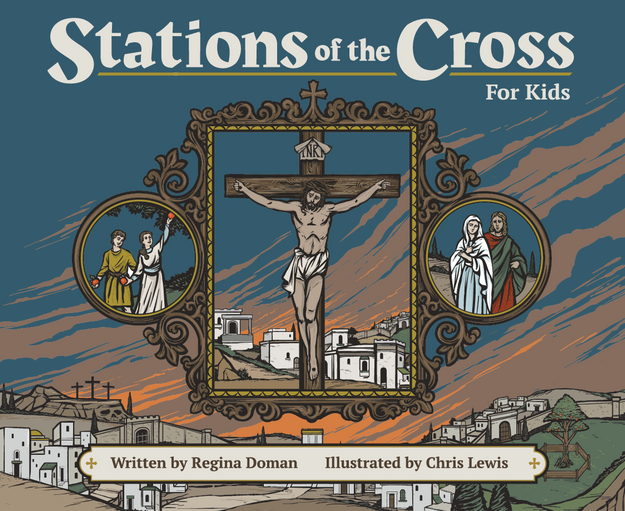 Stations of the Cross for Kids Cover
