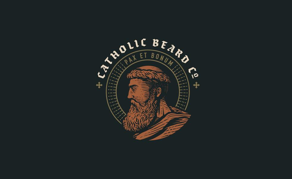 Catholic Beard Co. Logo