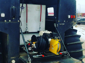 New Sherp pressure skid ready to go!