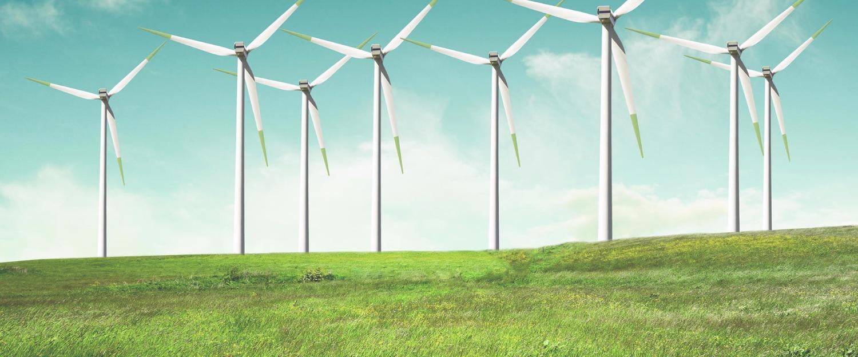 Windmills on green field 2015-10-6-14:17:54
