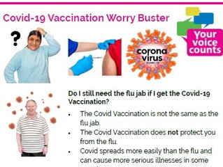 Working with South Tyneside Clinical Commissioning Group to support the Covid-19 vaccine roll-out