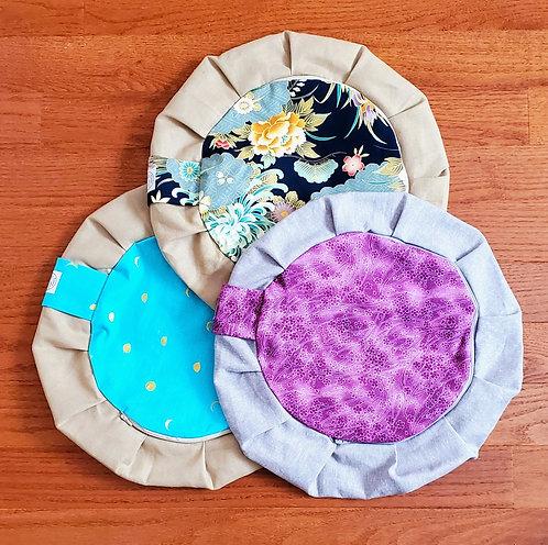 Zippered Meditation Cushion Covers