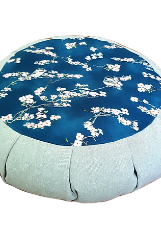 Spring Evening Meditation Cushion