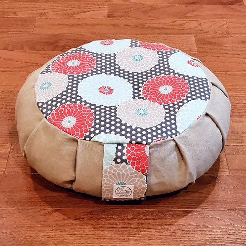 Chrysanthemum Meditation Cushion