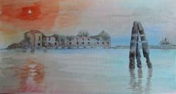 Venice, lagoon island