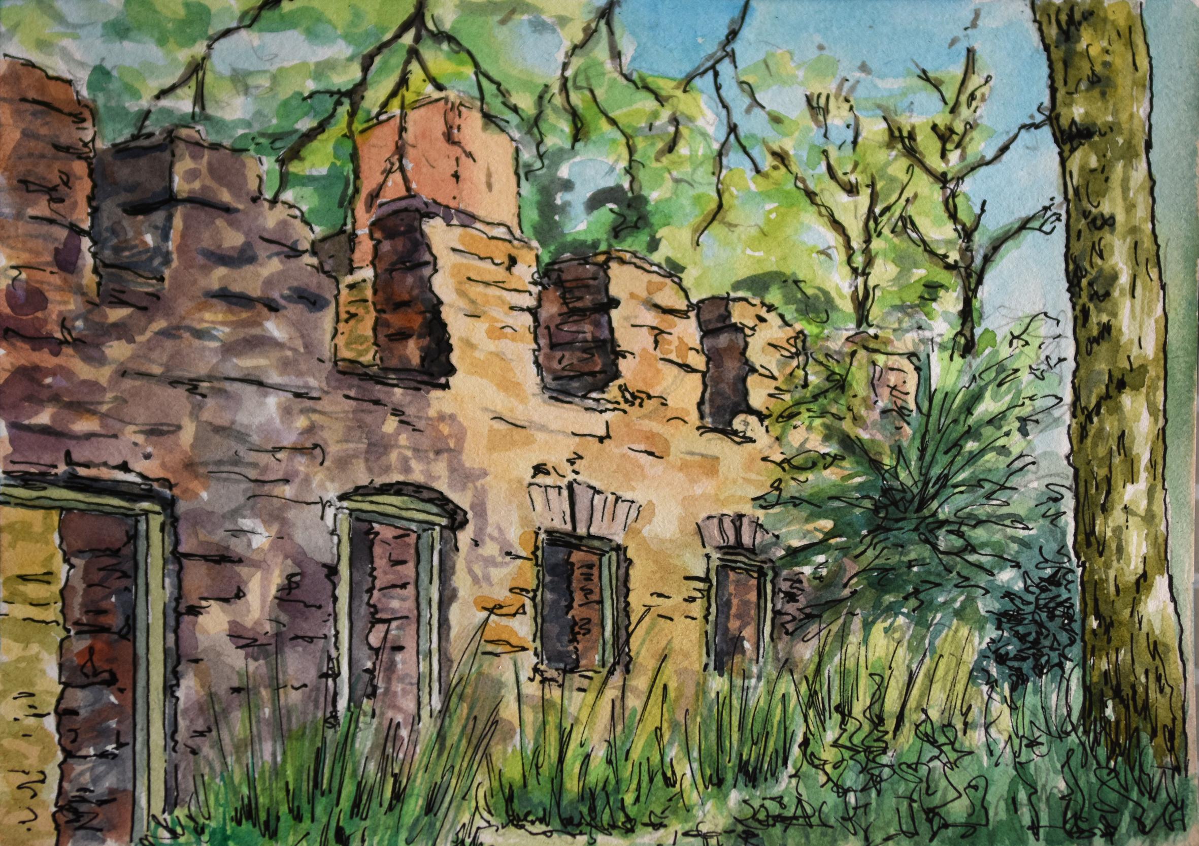 Tyneham Houses small