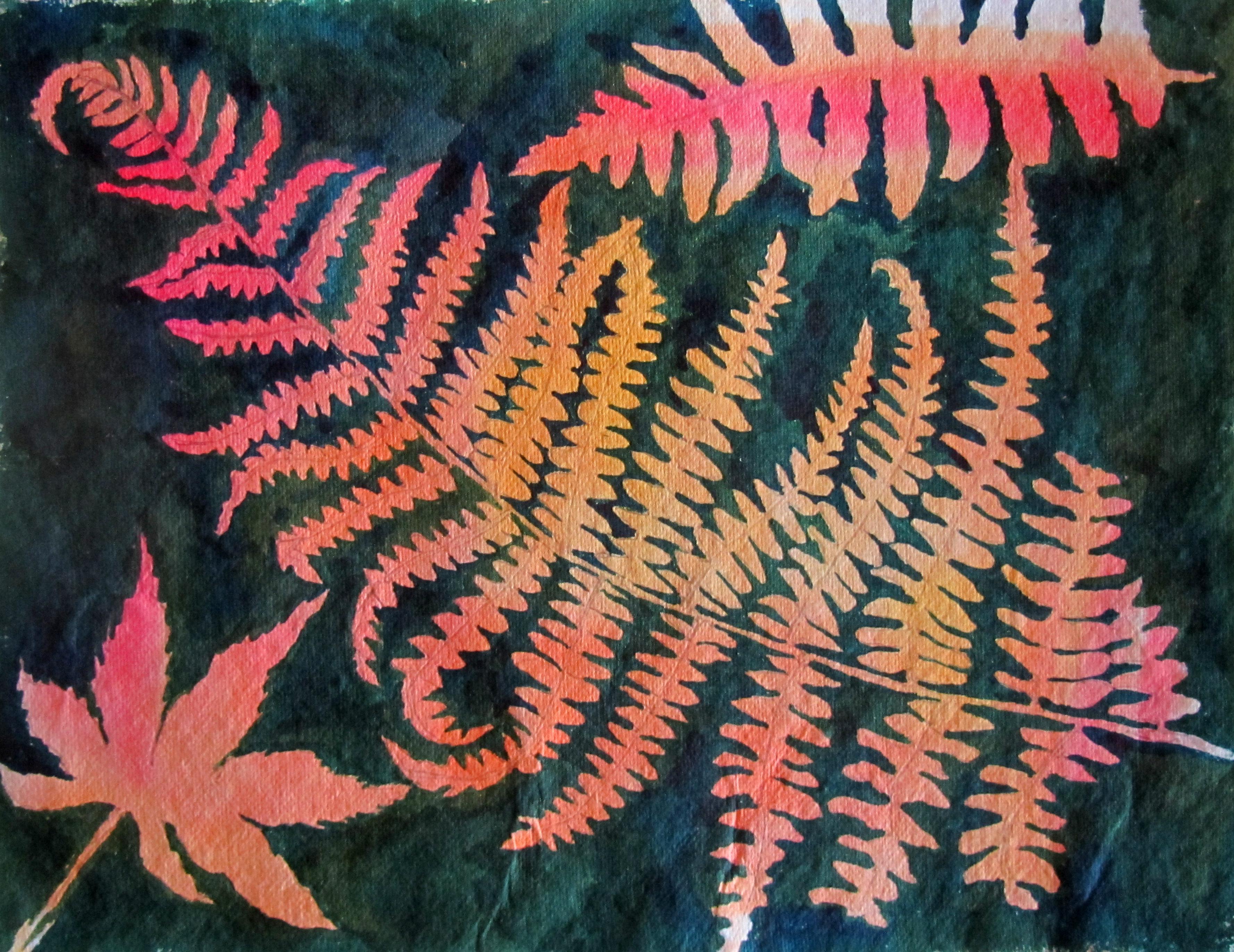 Arne autumn leaves