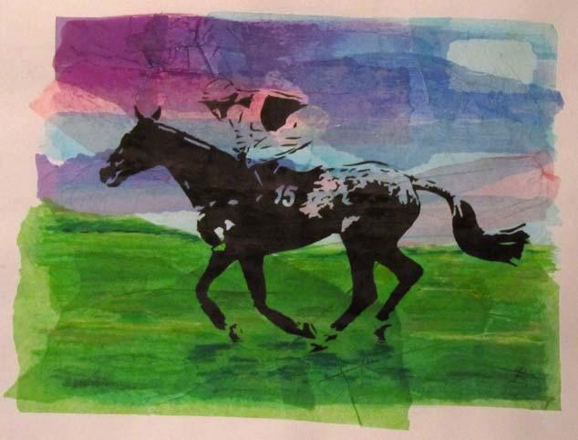 single_horse_screen_print_2