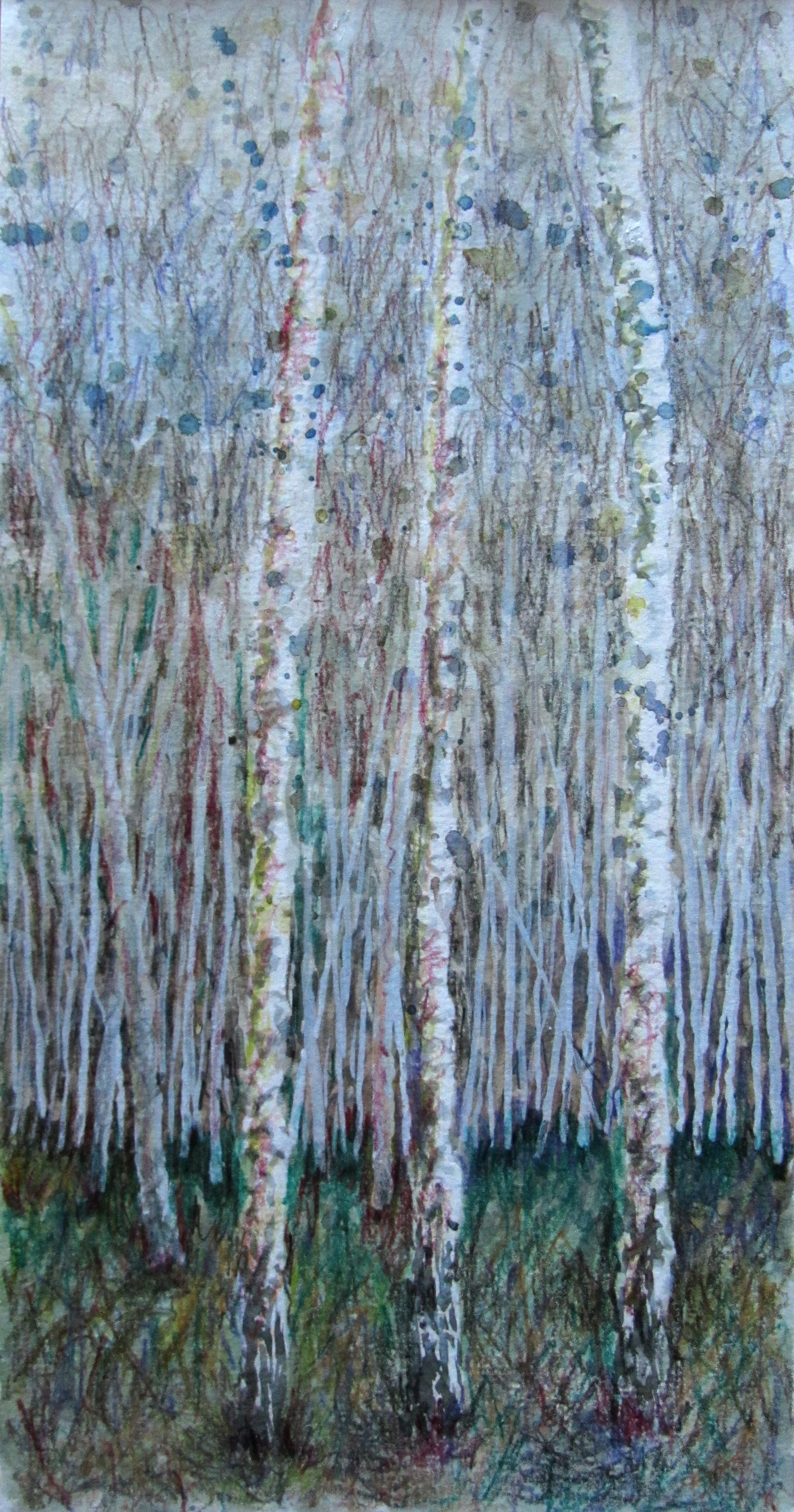 Arne, three birches