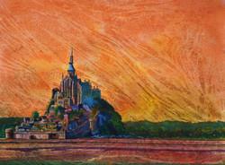 MSM orange sky