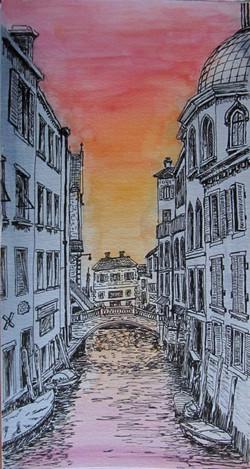 Venice, canal in Dorsoduro